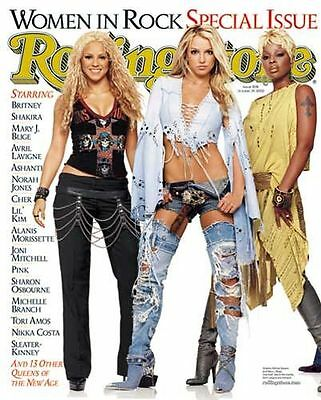 Rolling Stone Issue #908 October 2002 Britney Spears Shakira Mary J. Blige
