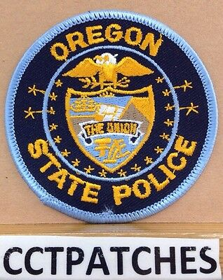 Oregon State Police Shoulder Patch Or New