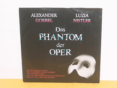 "Single 7"" - Alexander Goebel - Luzia Nistler - Das Phantom Der Oper"