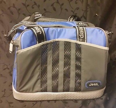 Genuine Jeep Cherokee Thermal Insulated Picnic Lunch Cooler Bag
