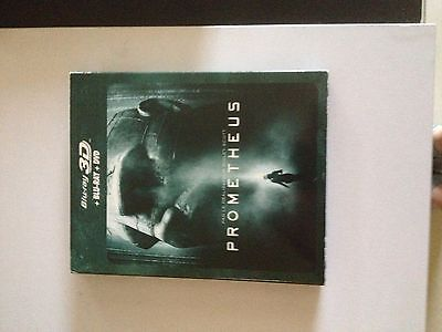 Blu Ray 3D + 2D + DVD : Prometheus Ed Steelbook