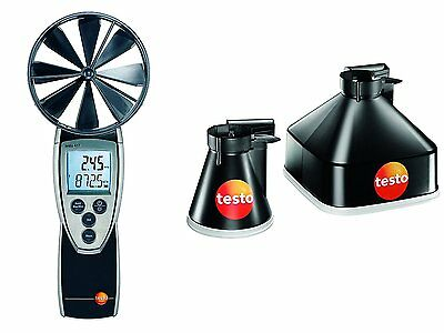 testo 417 - Vane Anemometer Set 1 = plus Funnel set 0563 4170