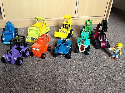 Collection of Bob The Builder Toys various  Vehicles