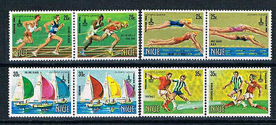 Niue - 1980 - Moscow Olympic Games in Pairs - SC 293-300 [SG 366-373] MNH 17cf