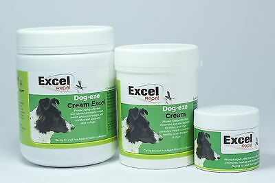Excel Repel Dog-Eze Cream - Itchy Skin - kills lice / mites / fleas - itchy dogs