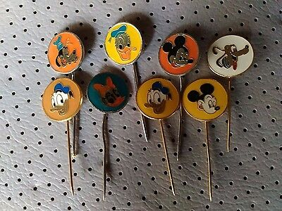 Disney Pins Vintage Collection Mickey Mouse Donald Duck Goofy Pluto