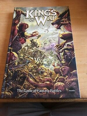 Kings Of War Rule book (hardcover)