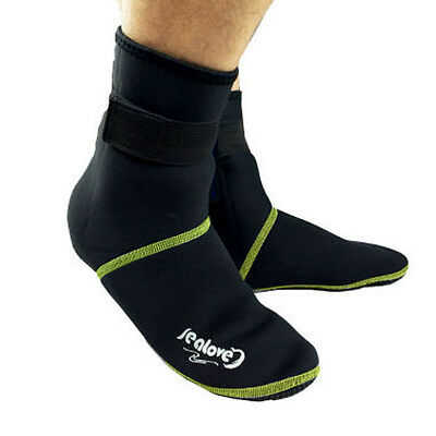 3MM Neoprene Diving Boots Diving Scuba Wetsuit Winter Surfing Swimming Sock NG