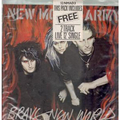 "NEW MODEL ARMY Brave New World 12"" VINYL UK Emi 1985 5 Track Limited Double"