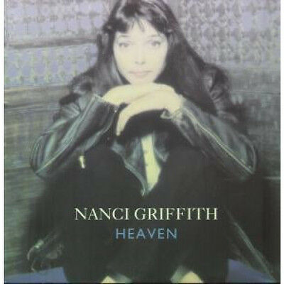 "NANCI GRIFFITH Heaven 12"" VINYL UK Mca 1991 3 Track B/W Down N Outer And Tumble"