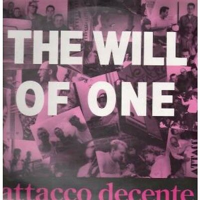 "ATTACCO DECENTE Will Of One 12"" VINYL UK All Or Nothing 1988 3 Track Long"