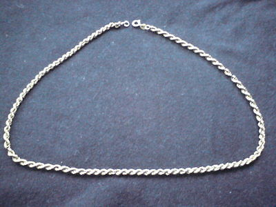 HALLMARKED 9CT GOLD 5g 17 INCH ROPE CHAIN NECKLACE.