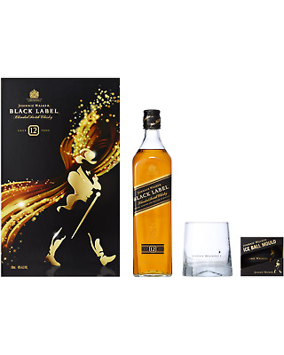 Johnnie Walker Black Gift Pack 700mL