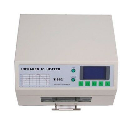 T962 Reflow Oven Infrared IC Heater Visual Operation Micro-Computer SMD BGA