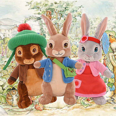 Cute Peter Rabbit Potter Beatrix Plush Toys Collection for Baby Kids gifts 30cm