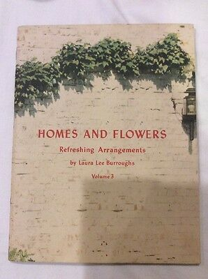 Homes And Flowers Vol 3 by Laura Lee Burroughs 1942 Coca-Cola Coke Booklet