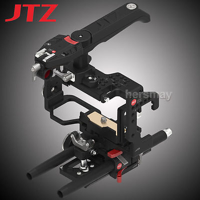 JTZ DP30 Camera Cage Handle Grip Baseplate Rig For Sony Alpha A6000 A6300 A6500