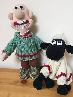 Wallace And Gromit Shaun The Sheep Plush Toys Aardman