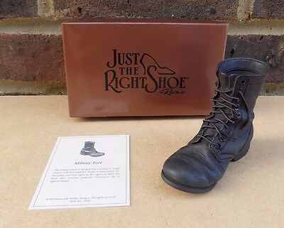 JUST THE RIGHT SHOE - Military Boot