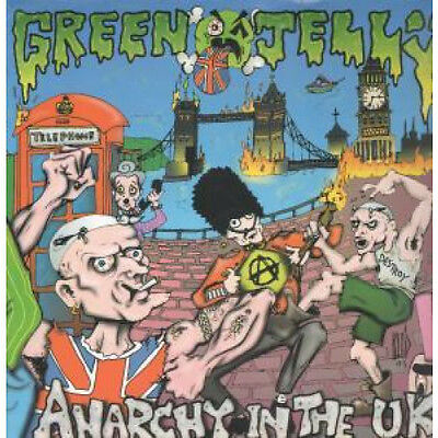 "GREEN JELLY Anarchy In The Uk 12"" VINYL 3 Track Limited Edition Poster Sleeve"