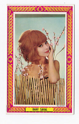 DANY SAVAL carte postale Photo SAM LEVIN