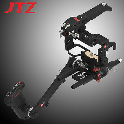 JTZ DP30 Camera Cage Baseplate Rig Handle KIT For Sony Alpha A6000 A6300 A6500