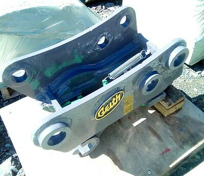 Quick hitch for New Holland LB110