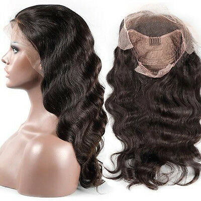 180% High Density Glueless Lace Front Long Wavy Human Hair Wigs For Black Women