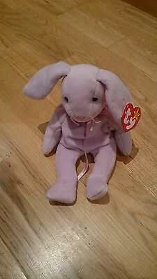 Floppity - Ty Beanie Baby - Bunny Rabbit Teddy - Soft Collectable Toy