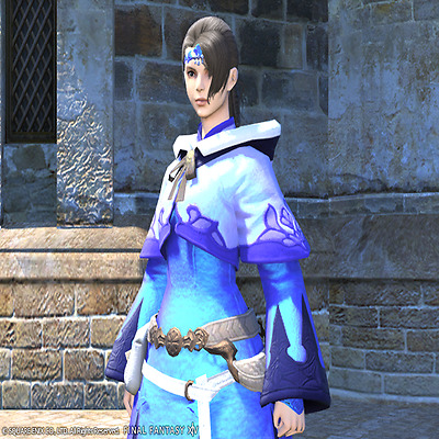 FINAL FANTASY XIV FFXIV FF14 Dyes Ten Pots of Metallic Blue Dye