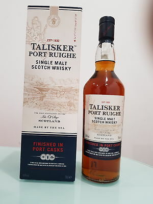 Talisker Port Ruighe (Port Finished) Single Malt Scotch Whisky (700ml)