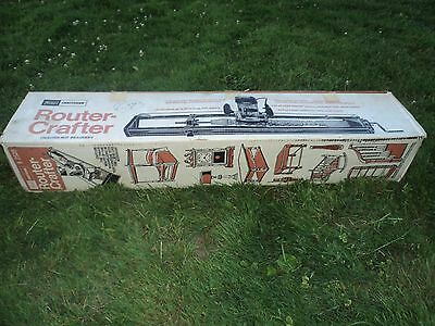 Nice Vintage Sears Craftsman Router-Crafter 92525 w/ Box 9 2525