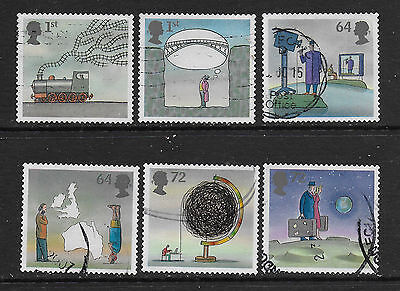 1) GB Stamps 2007 World of Invention Full Set. Good Used.