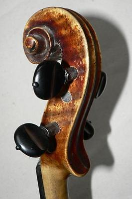 Nice Old One Piece Back Violin,strong  Sound, Ready To Play,ship All Over