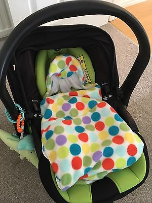 Morrck All Season Baby Hoodie / Blanket / Cosy Toes Size 1: 0-6 months