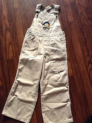 Garfield Girls  Overall Pants Size Large