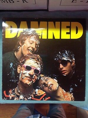The Damned The Damned SEEZ1 Made In Germany LP Vinyl VG+/VG+