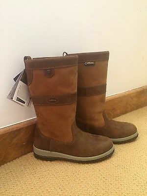 Dubarry Boot Ultima Sailing Eu 35 - UK 2.5/3 Gortex Brown Leather RRP £279