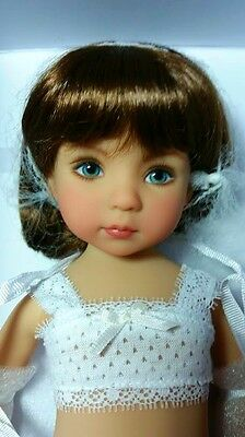 Dianna Effner little Darling Suzanne painted by Geri Urbie, with shoes & outfits