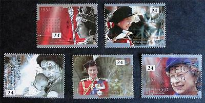 Great Britain 1992 '40th Anniversary of Accession' SG1602/06 Used Set