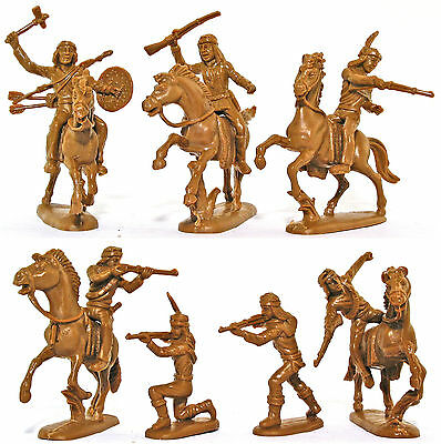 Atlantic Geronimo Apache War Party - set 1203 in Sioux box - 60mm scale