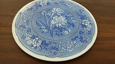 Spode Blue Room 'Botanical' Cake or Gateau Stand / Platter