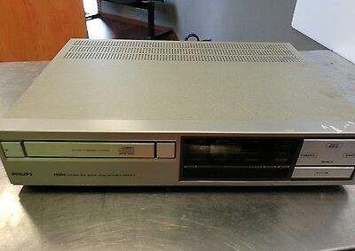platine cd philips cd204 vintage