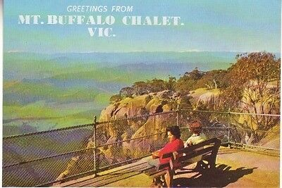 Greetings from Mt. Buffalo Chalet (Post Card) 1982