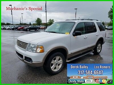 2003 Ford Explorer Eddie Bauer Used 03 Ford Explorer EB 4.6L V8 Auto 4X4 DVD No Reserve Mechanic's Special