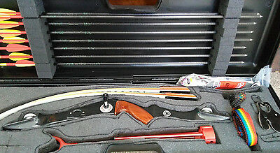 Marksman Super Meteor Recurve Bow and Accessories