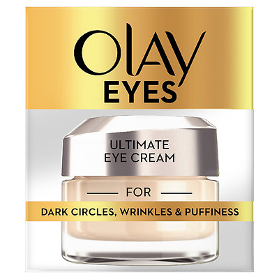 Olay Eyes Ultimate Eye Cream For Dark Circles Wrinkles and Puffiness  15 ml