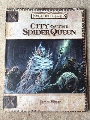 Dungeons & Dragons Forgotten Realms - City of the Spider Queen - Adventure