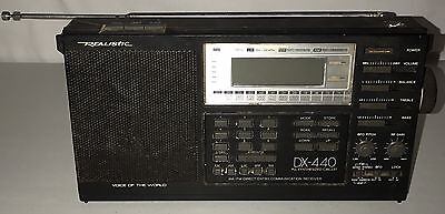 Realistic DX-440 AM/FM Direct Entry Communication Shortwave Receiver Radio