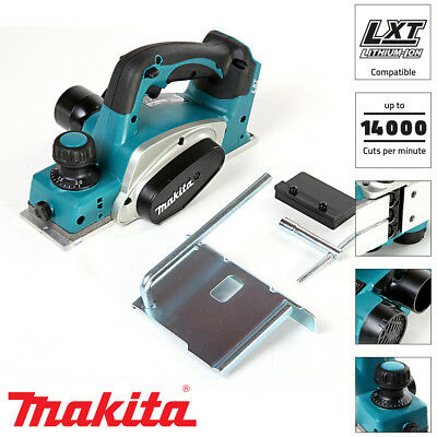 Makita DKP180Z 18V LXT Li-ion 82mm Cordless Planer Body Only Ex BKP180Z